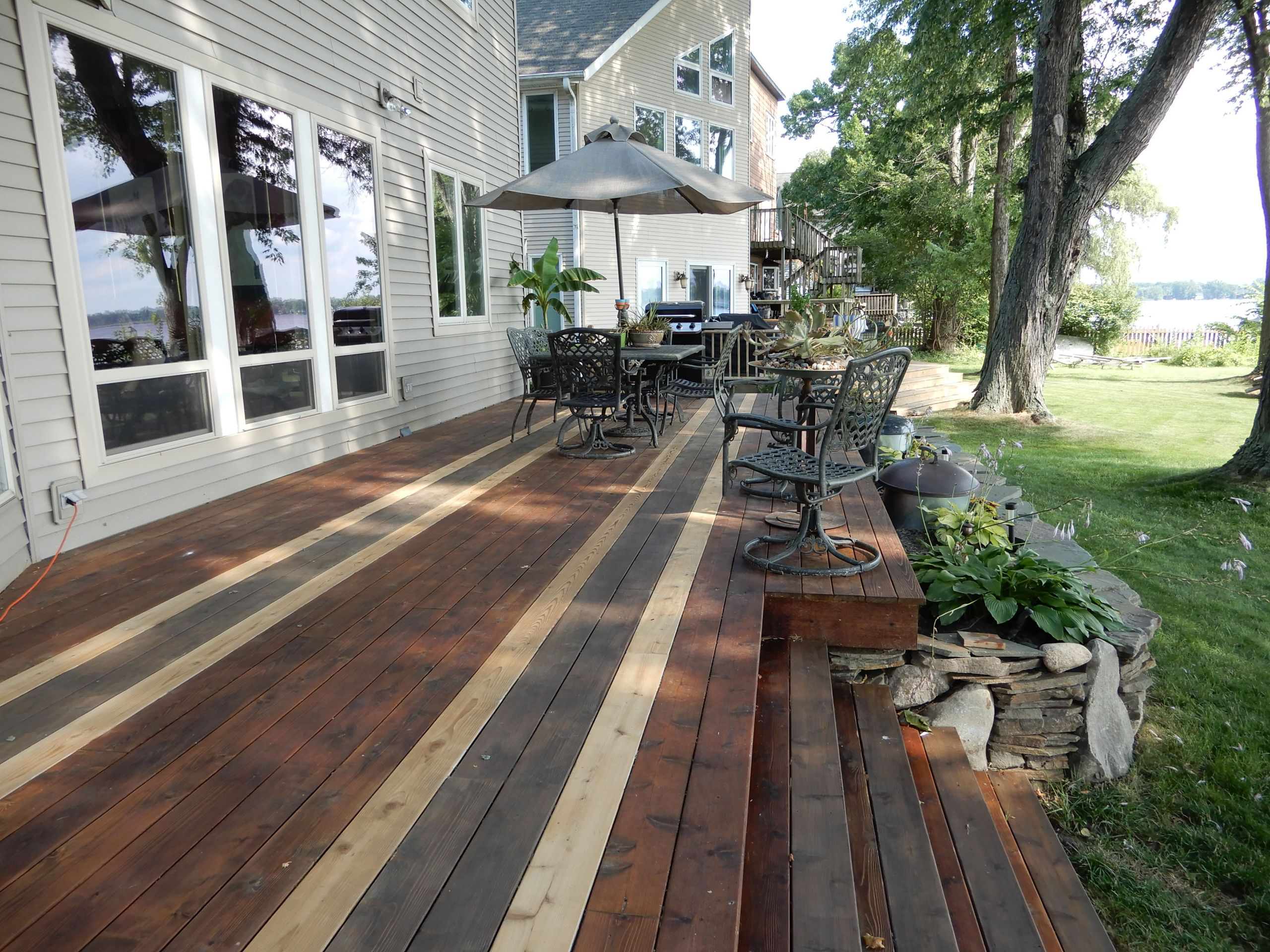 Cool Deck Paint Sherwin Williams  1 Best Stained Deck on Pinterest I stained our deck with