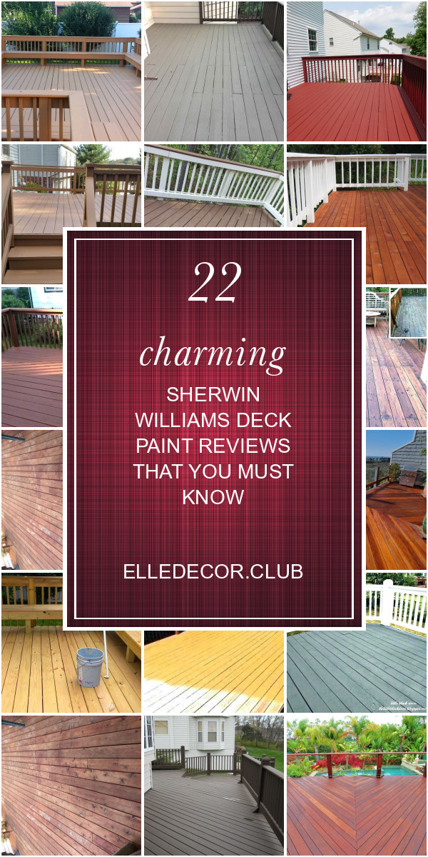 Cool Deck Paint Sherwin Williams  22 Charming Sherwin Williams Deck Paint Reviews that You
