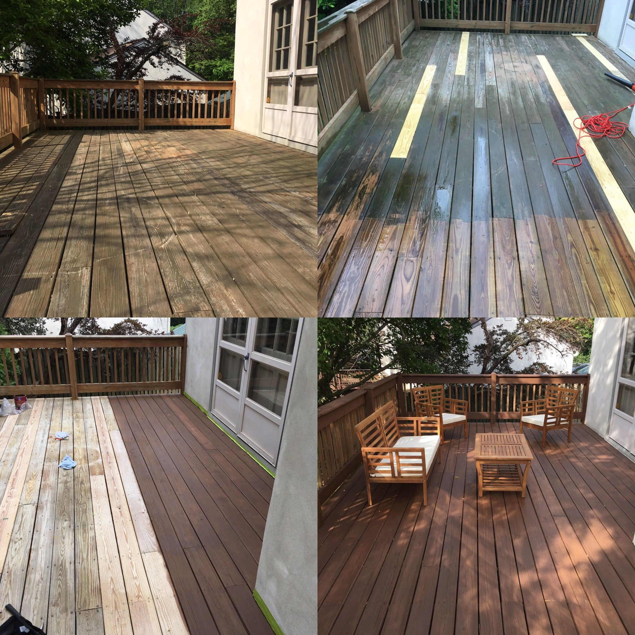 Cool Deck Paint Sherwin Williams  Deck renovation with Sherwin Williams Hawthorne semisolid