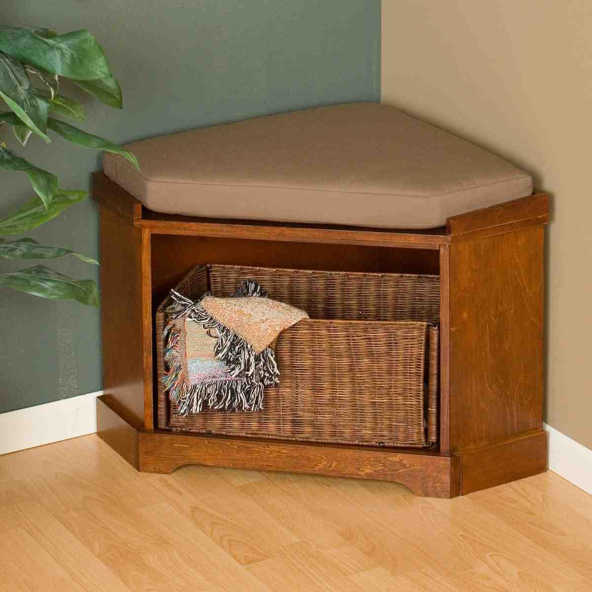 Corner Bench Storage New Corner Storage Bench Home Furniture Design