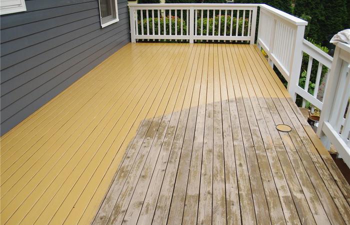 Deck Resurfacing Paint Beautiful Patio Gardens Deck Railing Decking Grey Trex Posite