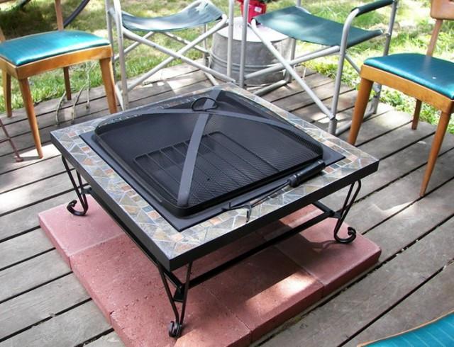 Deck Safe Fire Pits  Outdoor Deck Gates Safety