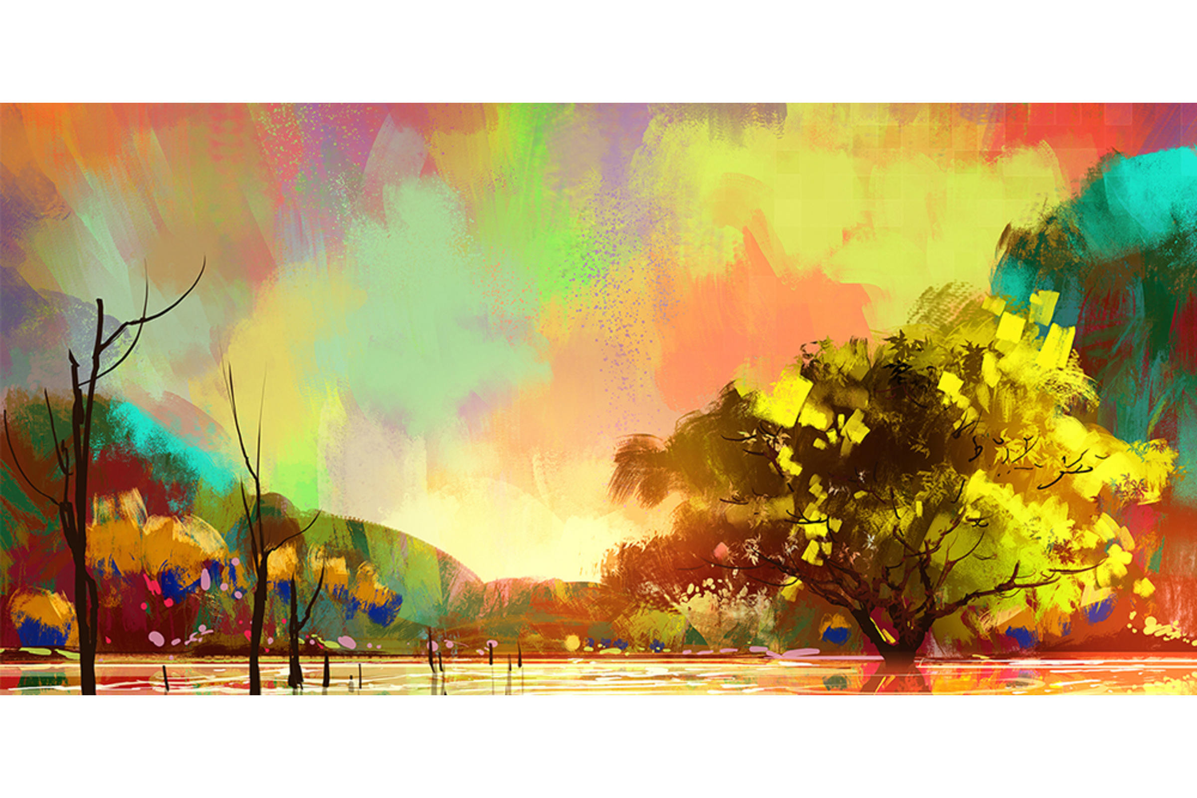 Digital Painting Landscape Inspirational Paint Your First Digital Landscape Corel Discovery Center