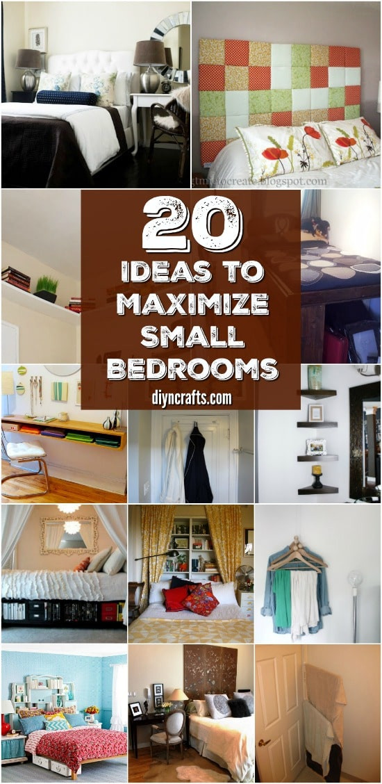 Diy Bedroom Organization  20 Space Saving Ideas and Organizing Projects to Maximize