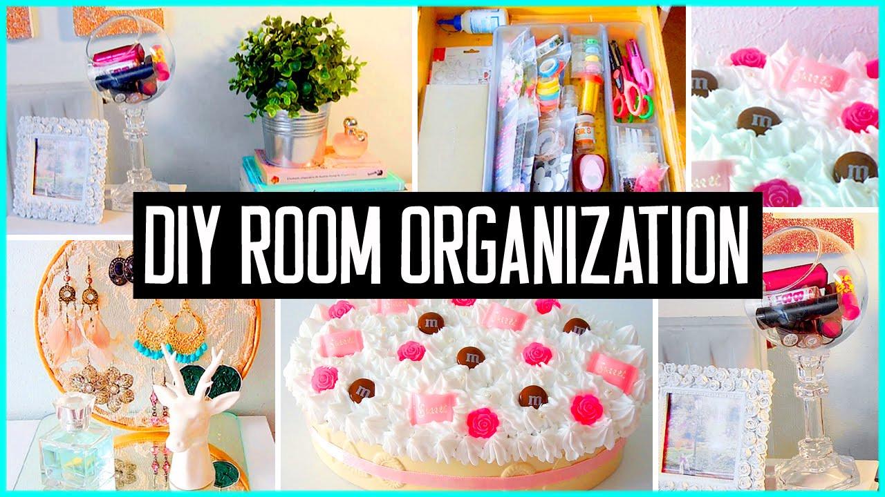 Diy Bedroom Organization  DIY room organization & storage ideas Room decor Clean
