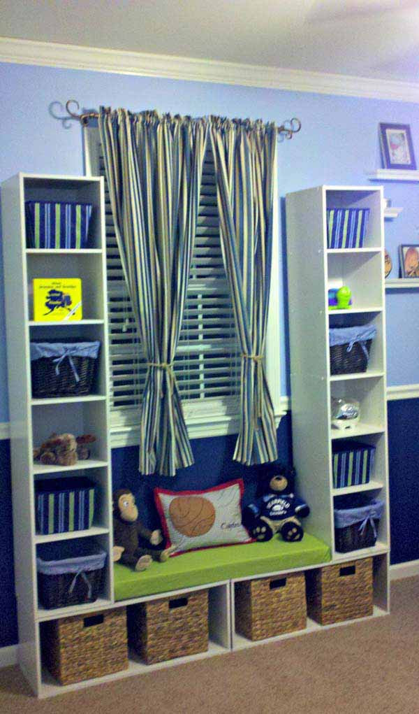 Diy Bedroom Organization  28 Genius Ideas and Hacks to Organize Your Childs Room