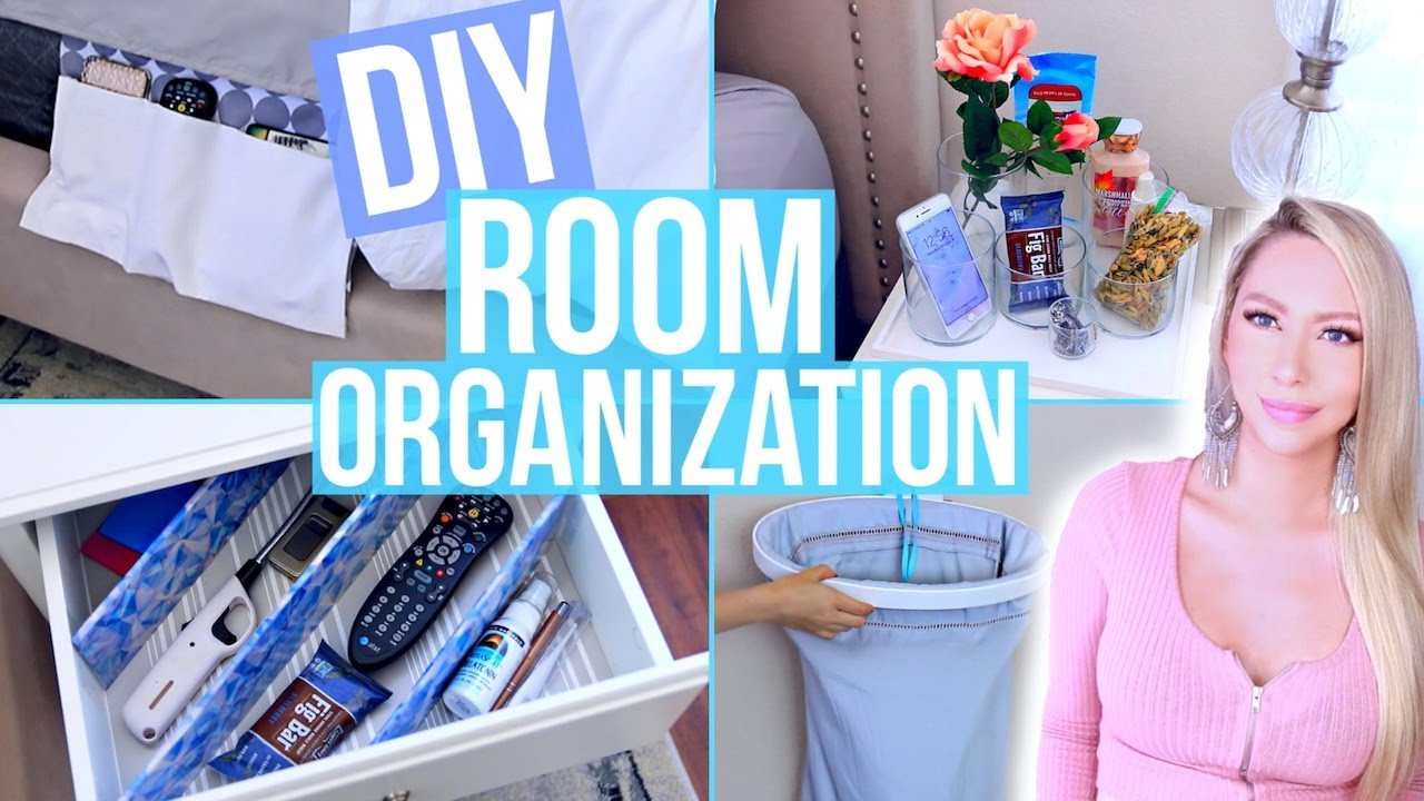Diy Bedroom Organization  DIY Room Organization and Storage Ideas