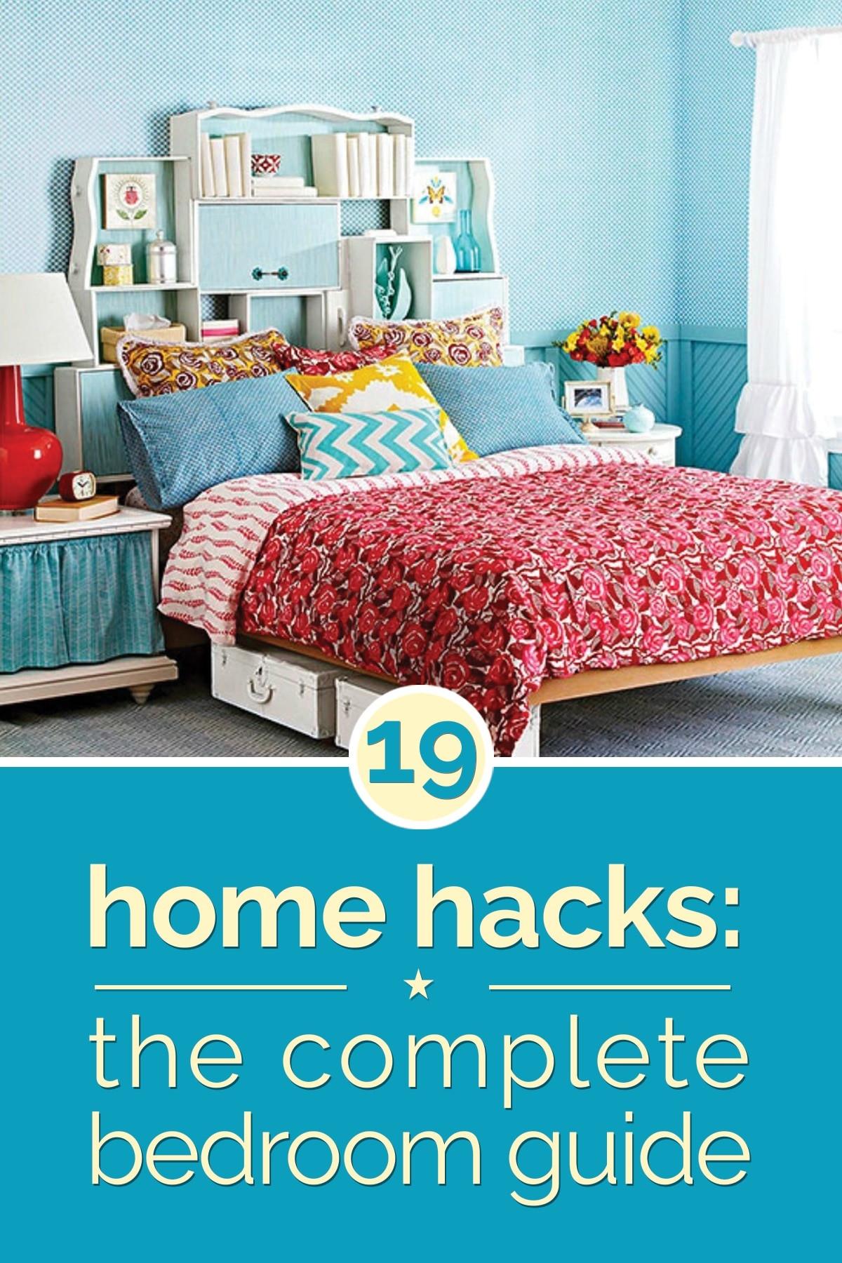 Diy Bedroom Organization  Home Hacks 19 Tips to Organize Your Bedroom thegoodstuff