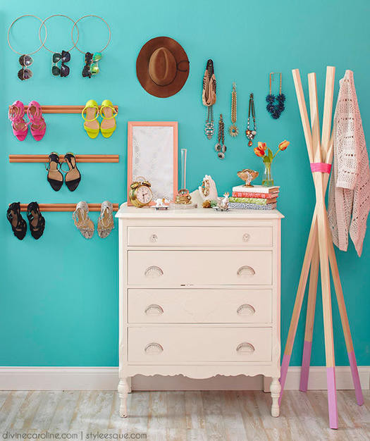 Diy Bedroom Organization  7 Stylish DIY Bedroom Organization Solutions