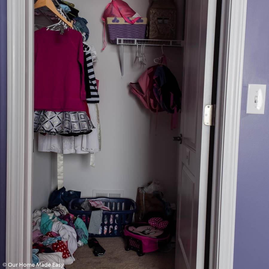 Diy Bedroom Organization  Our DIY Small Bedroom Organization Makeover