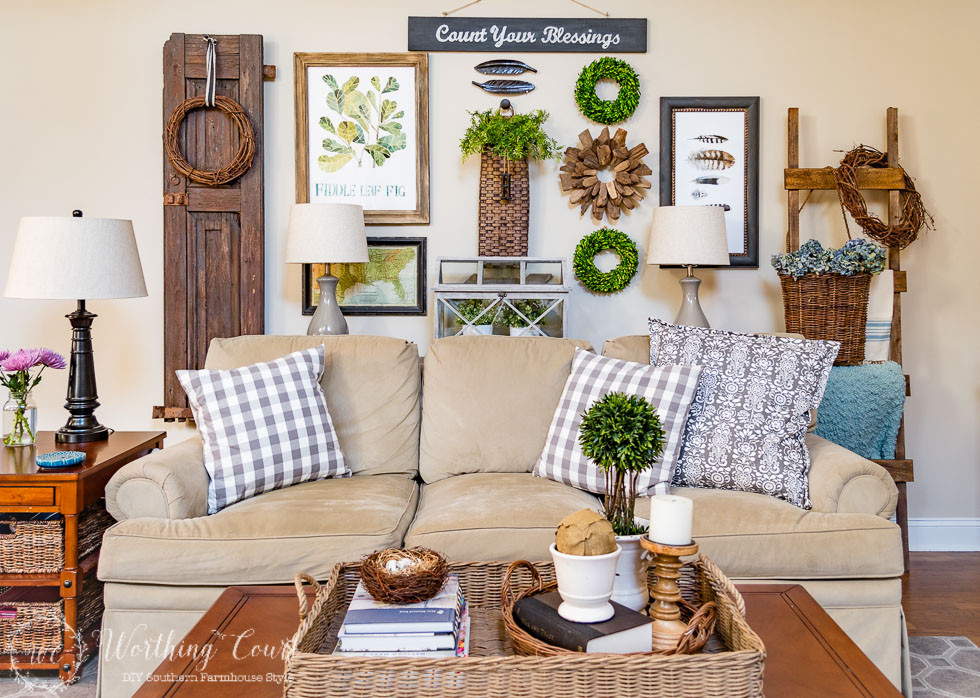 Diy Living Room Ideas  10 Fanastic Farmhouse Style Decor & DIY Ideas Work it