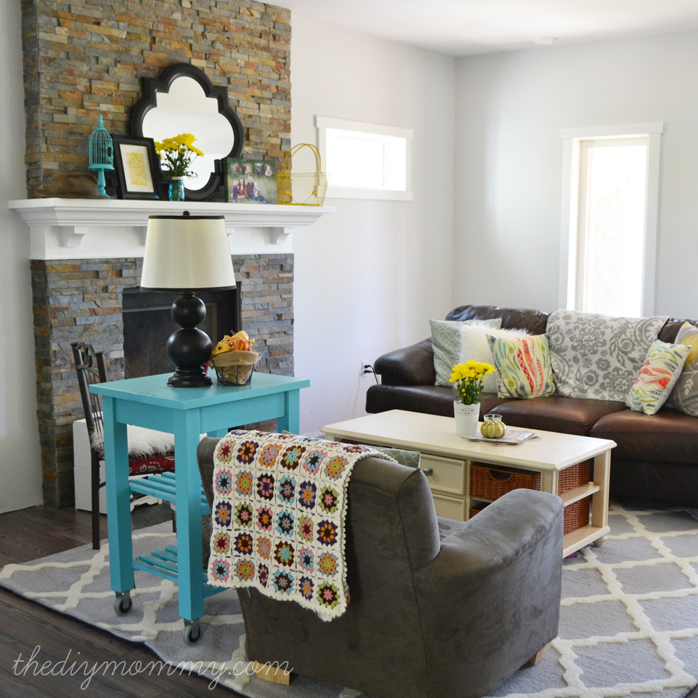 Diy Living Room Ideas  Our DIY House The Progress Taking It e Room at a Time