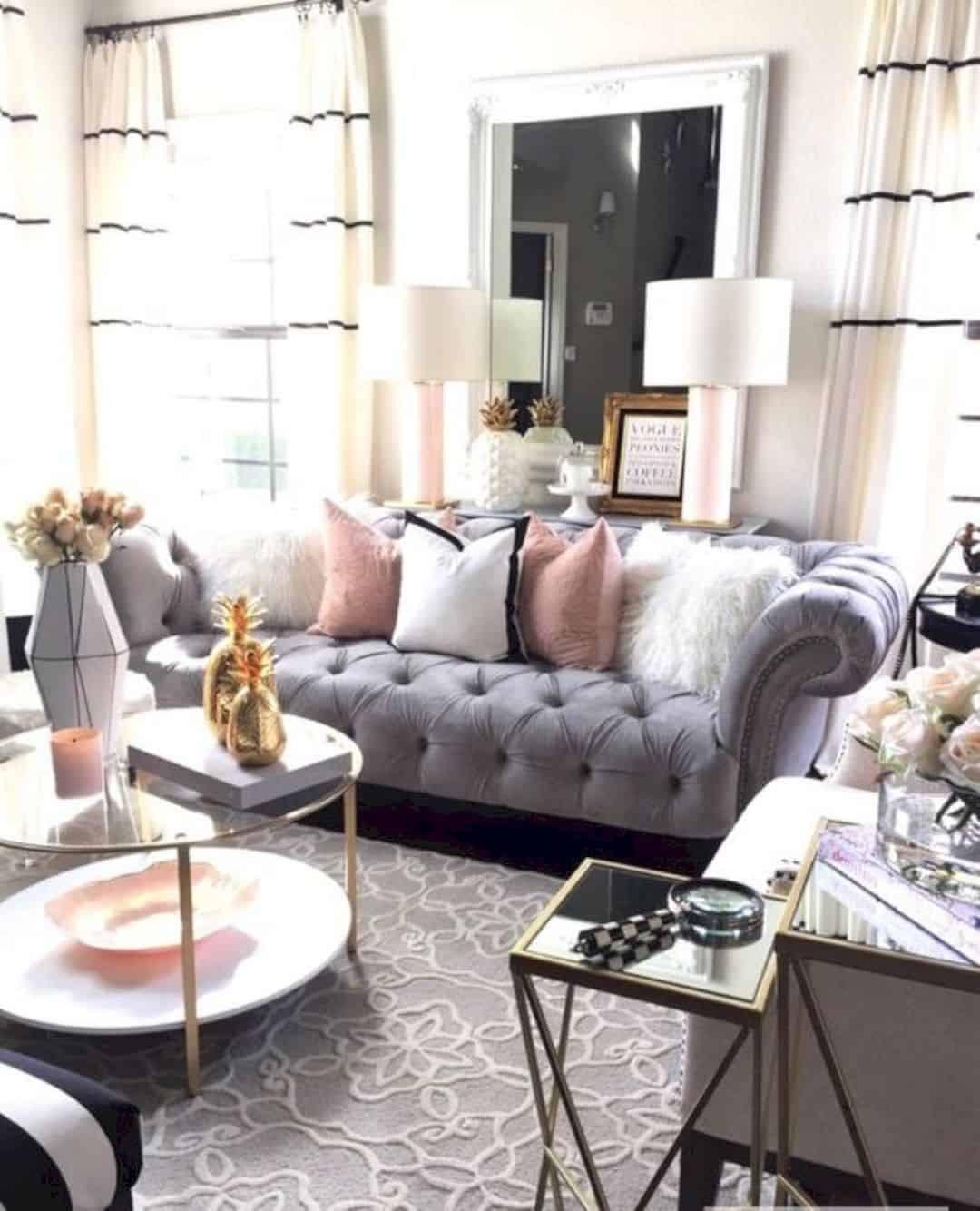 Diy Living Room Ideas  18 Cute DIY Girly Home Decor Ideas