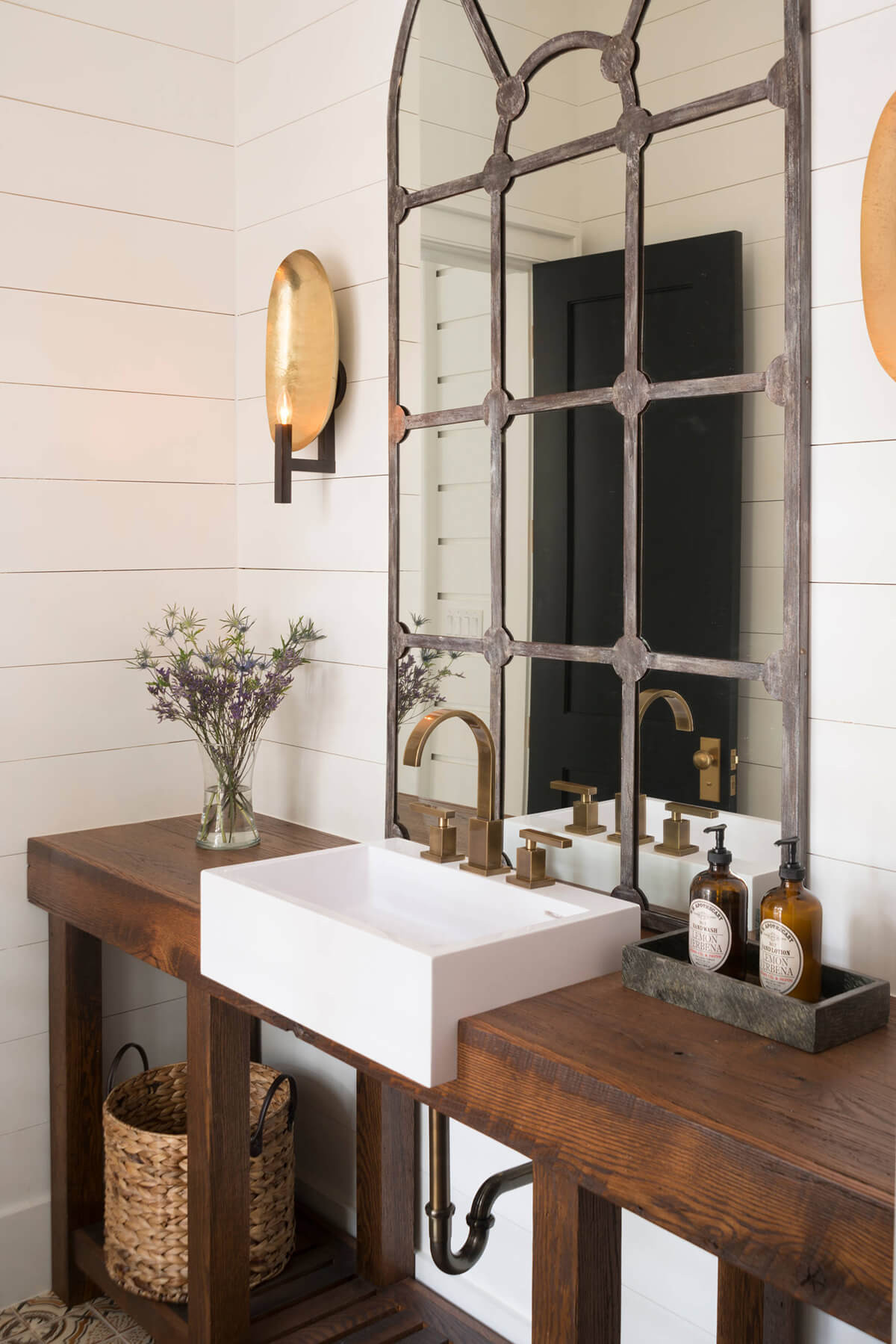 Farmhouse Bathroom Mirrors  25 Best Farmhouse Mirror Ideas and Designs for 2020