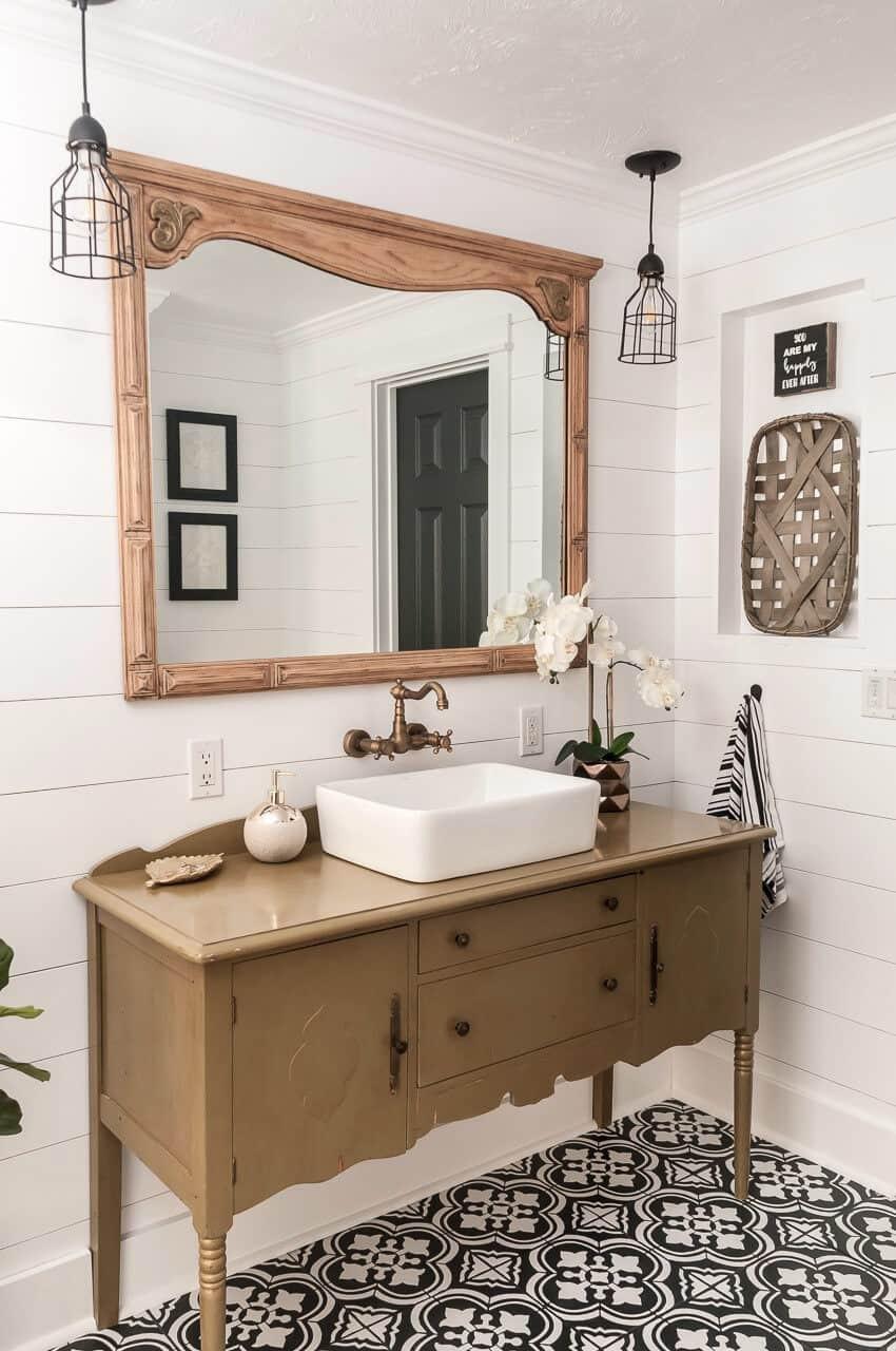 Farmhouse Bathroom Mirrors  The Best Vanity Mirrors for Your Bathroom