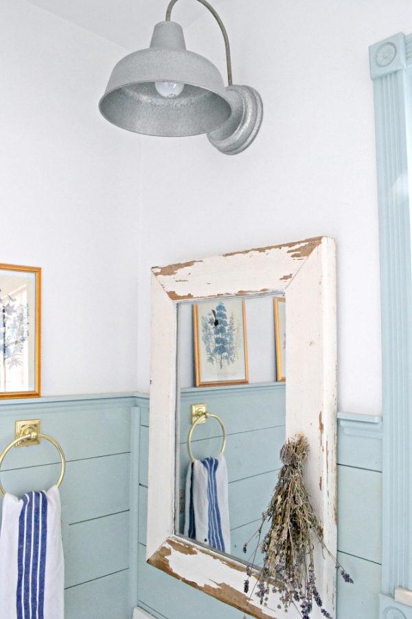 Farmhouse Bathroom Mirrors  Farmhouse Bathroom update ideas on a bud