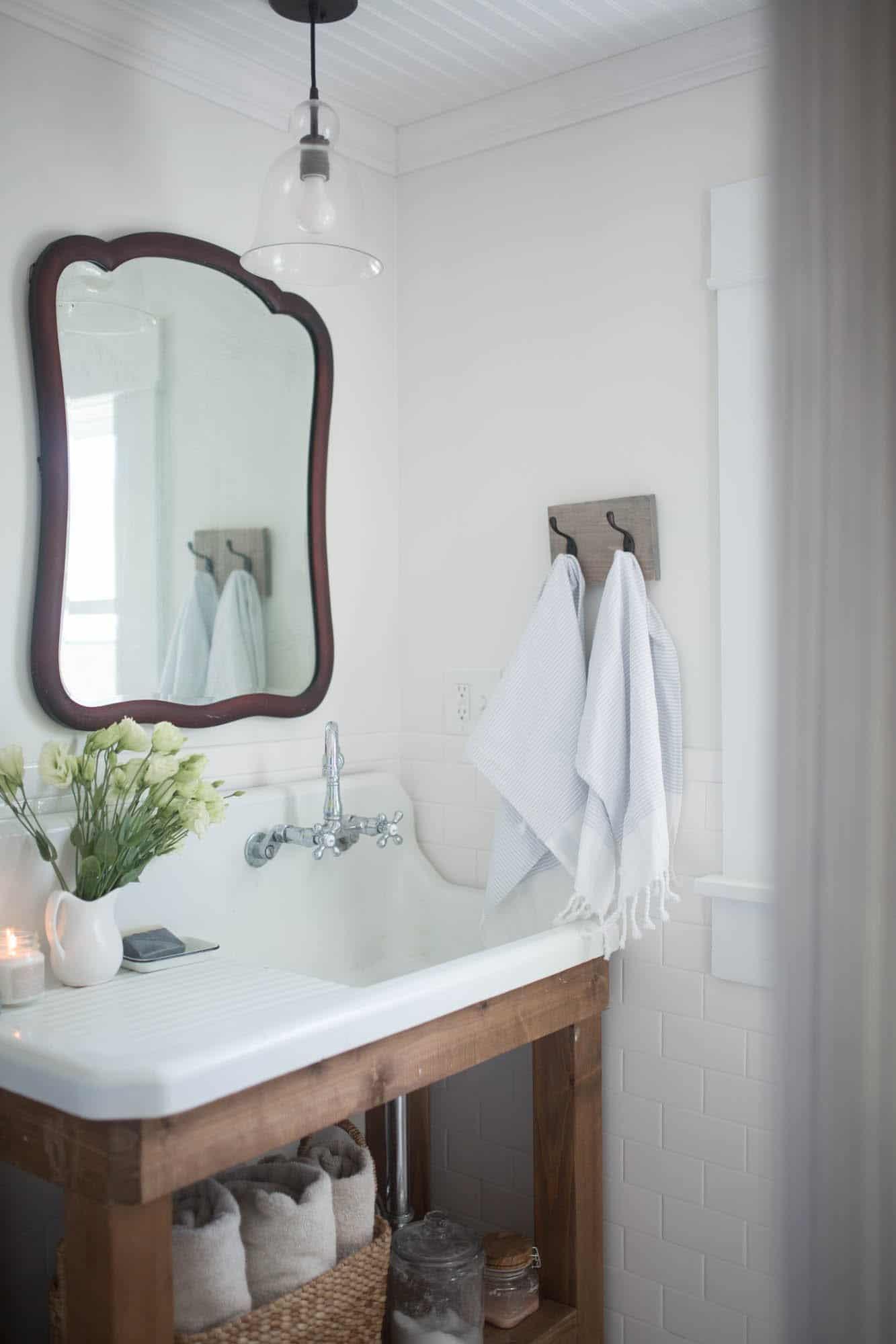 Farmhouse Bathroom Mirrors  Farmhouse Bathroom Decor Farmhouse on Boone