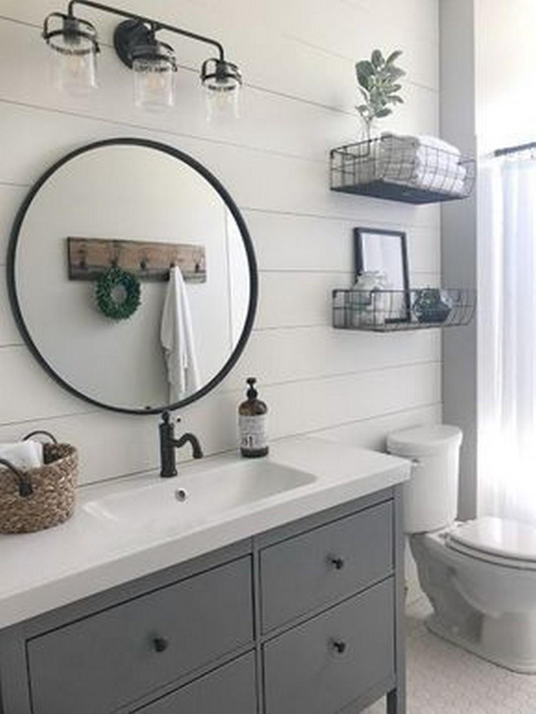 Farmhouse Bathroom Mirrors  60 Modern Farmhouse Bathroom – Farmhouse Room