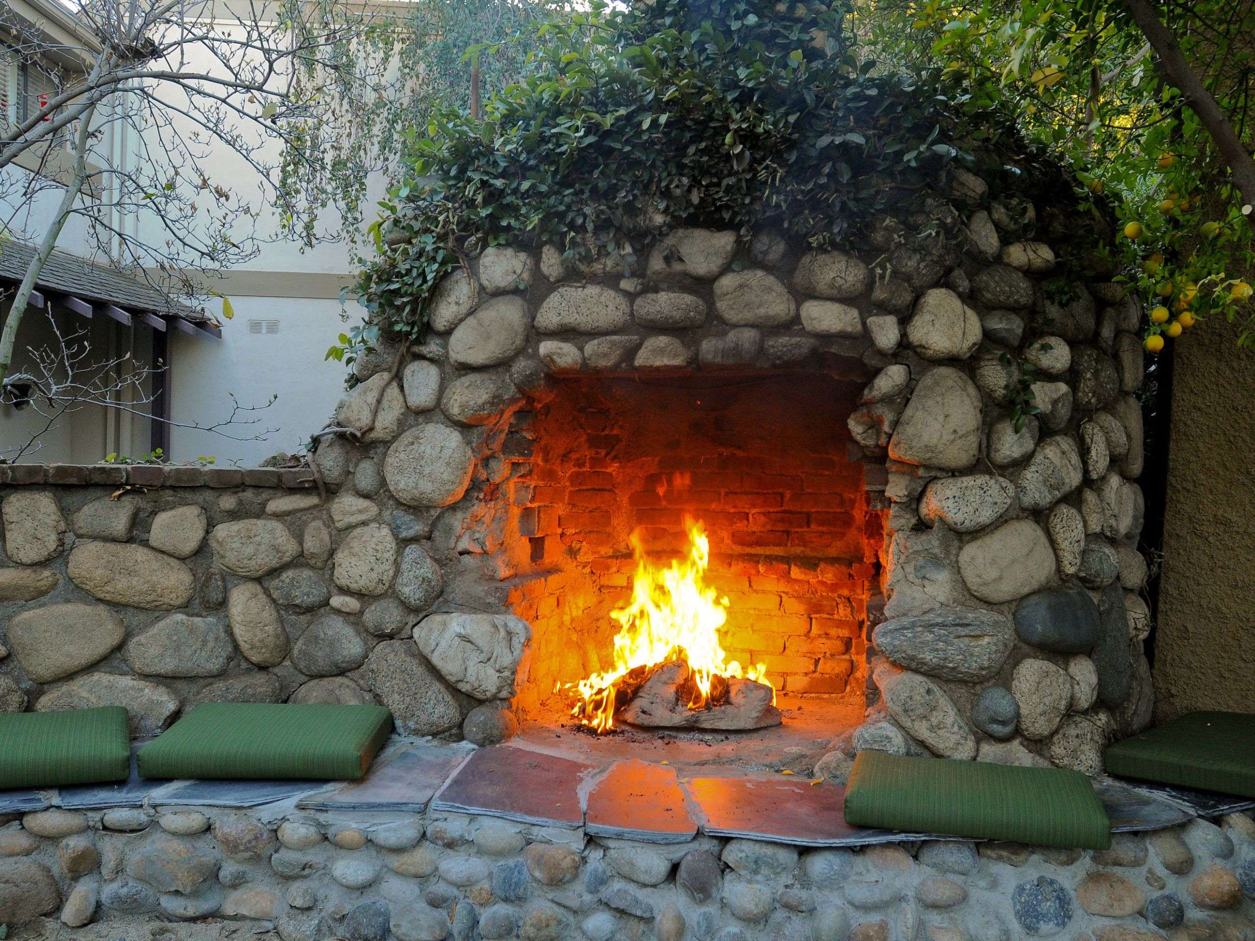 Fireplace Fire Pit  New Landscaping Trends for 2017 Lane s Landscaping Supply