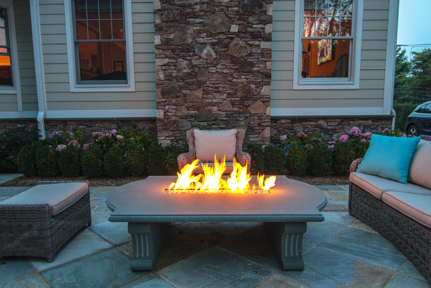 Fireplace Fire Pit  New Outdoor Fire Pit & Fireplace Bergen County NJ