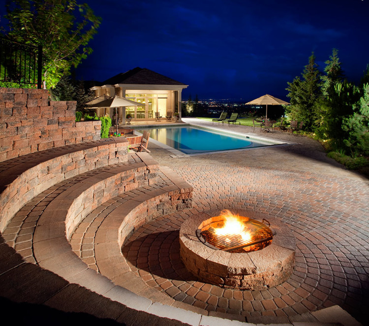 Fireplace Fire Pit  Outdoor Fireplace & Fire pits