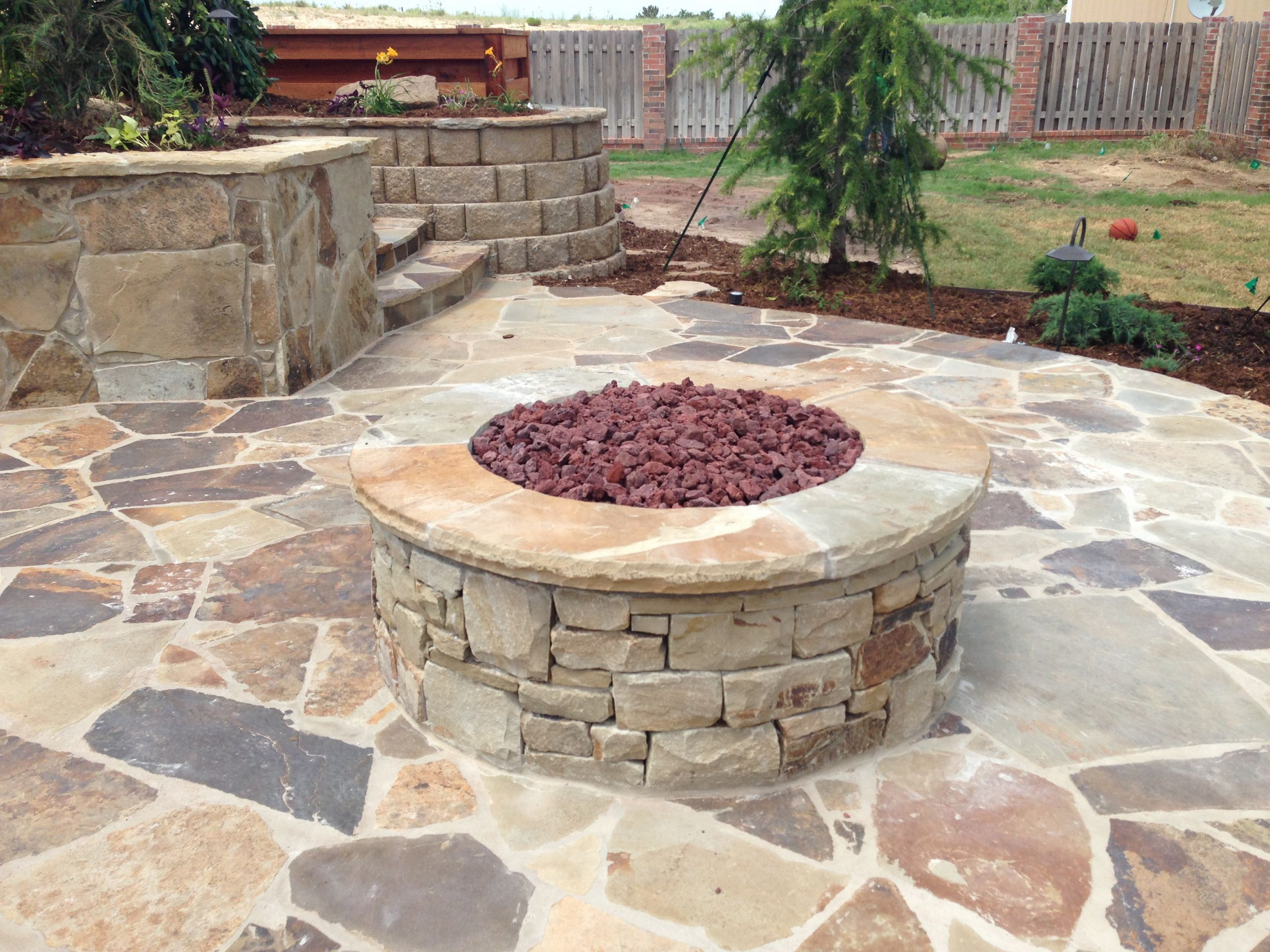 Fireplace Fire Pit  Outdoor Fireplaces & Custom Fire Pits in Oklahoma City