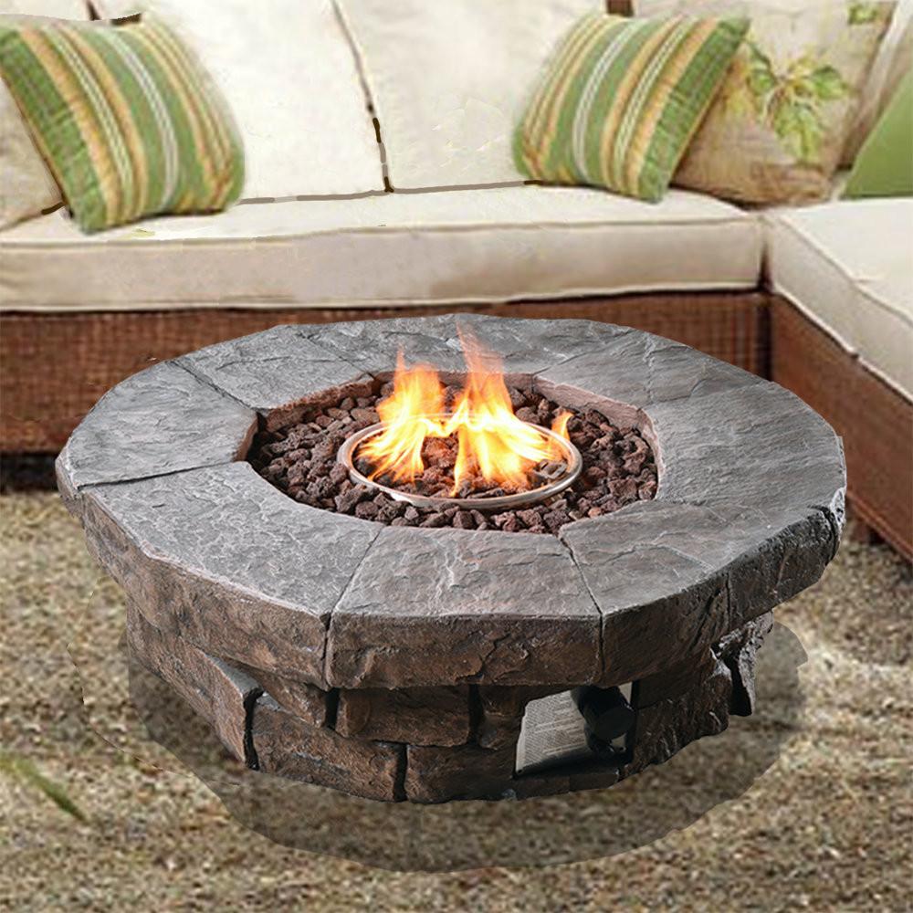 Fireplace Fire Pit  Gas Garden Firepits LPG Outdoor fire pits Gardeners Blog