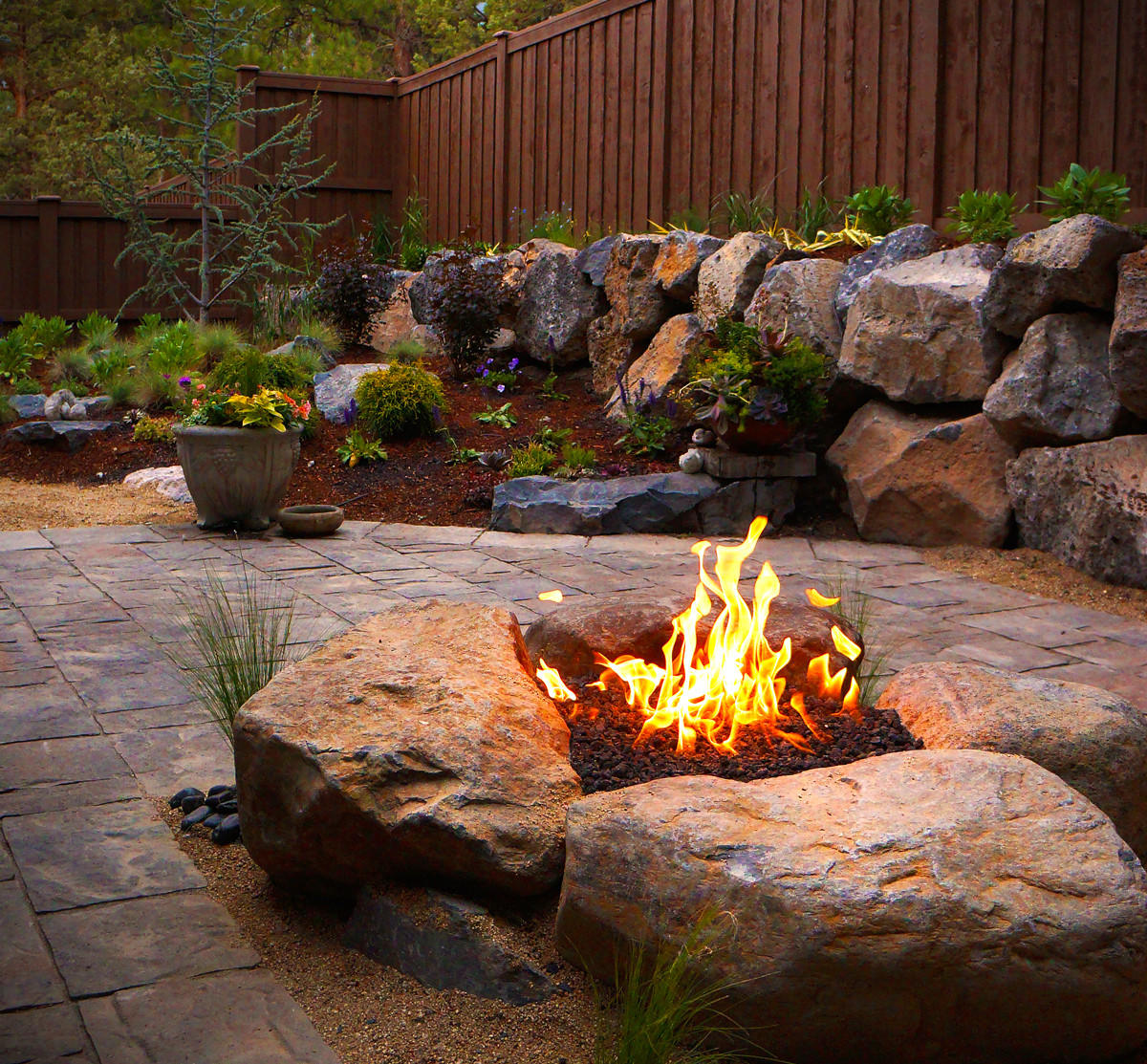 Fireplace Fire Pit  Fire Pits and Outdoor Fireplaces