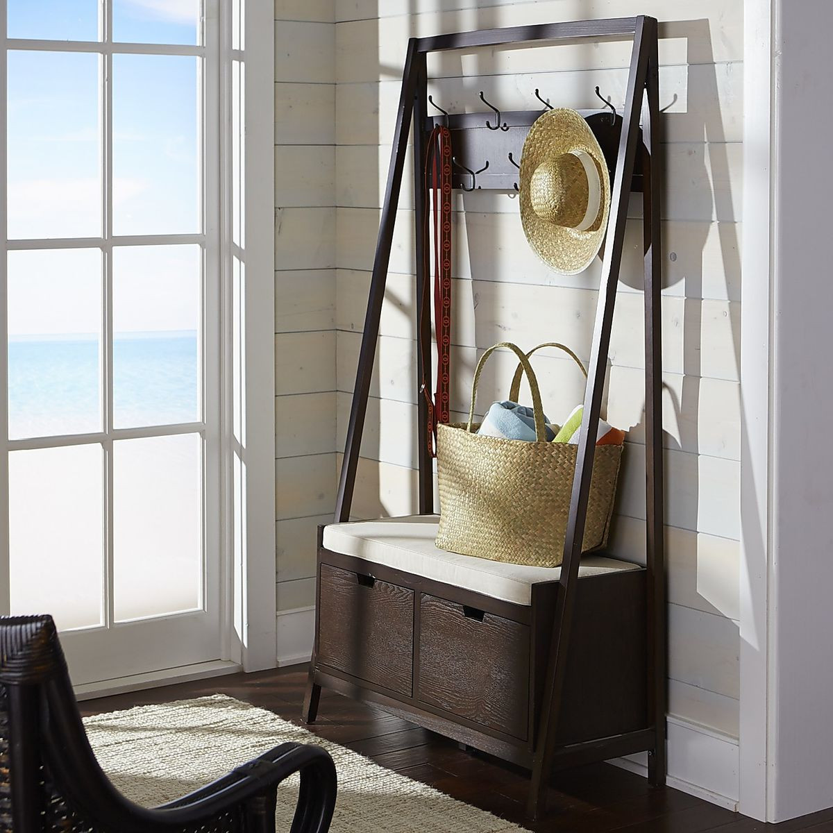Hall Tree With Storage Bench  8 Wel ing Entryway Benches That Maximize Storage Space