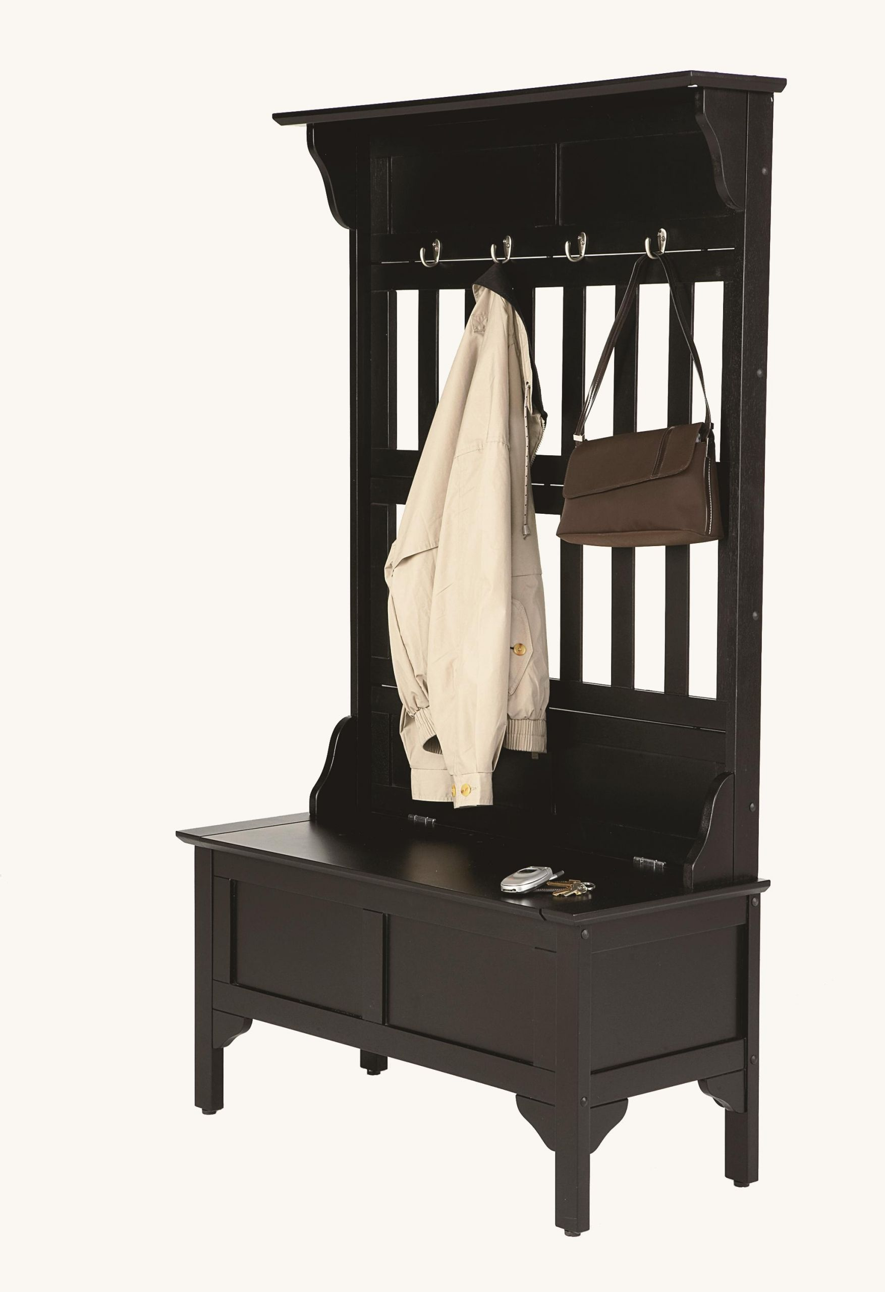 Hall Tree With Storage Bench  Home Styles Hall Tree And Storage Bench by OJ merce