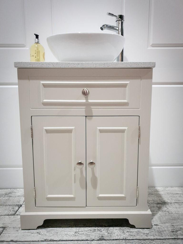 Hand Painted Bathroom Vanity  Bathrooms Gallery