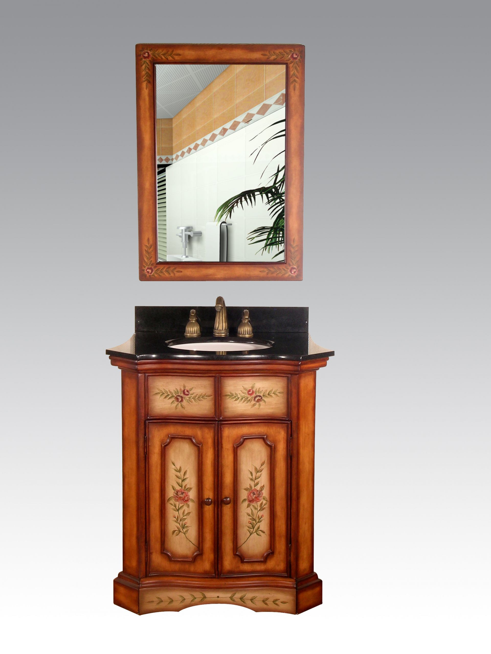 Hand Painted Bathroom Vanity Unique Blissfully Beautiful Hand Painted Bathroom Vanities Abode