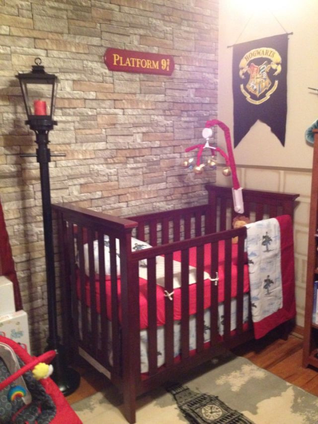 Harry Potter Baby Room Decor  13 Magical 'Harry Potter' Themed Nurseries