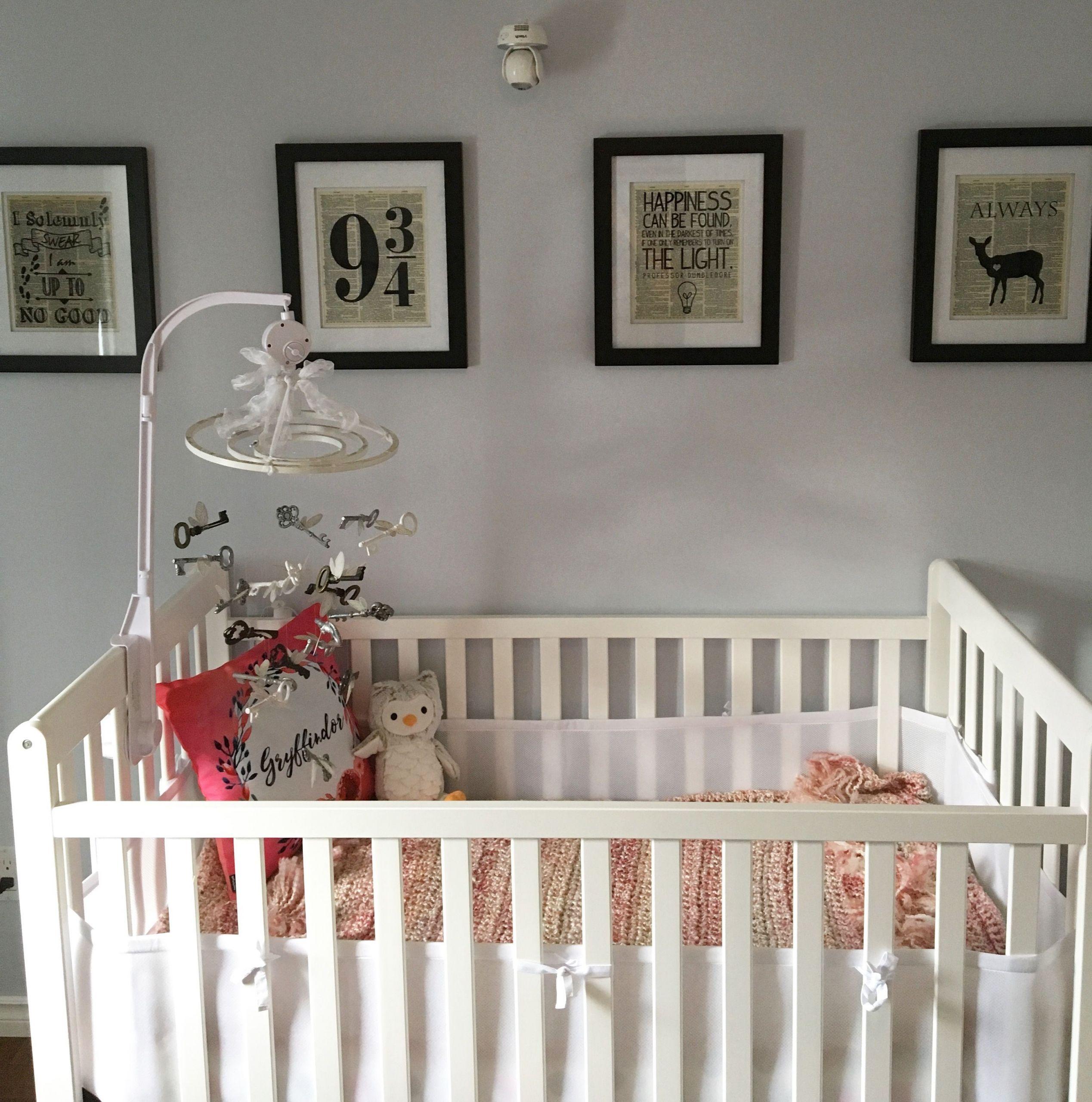 Harry Potter Baby Room Decor  Harry Potter themed nursery for my baby girl