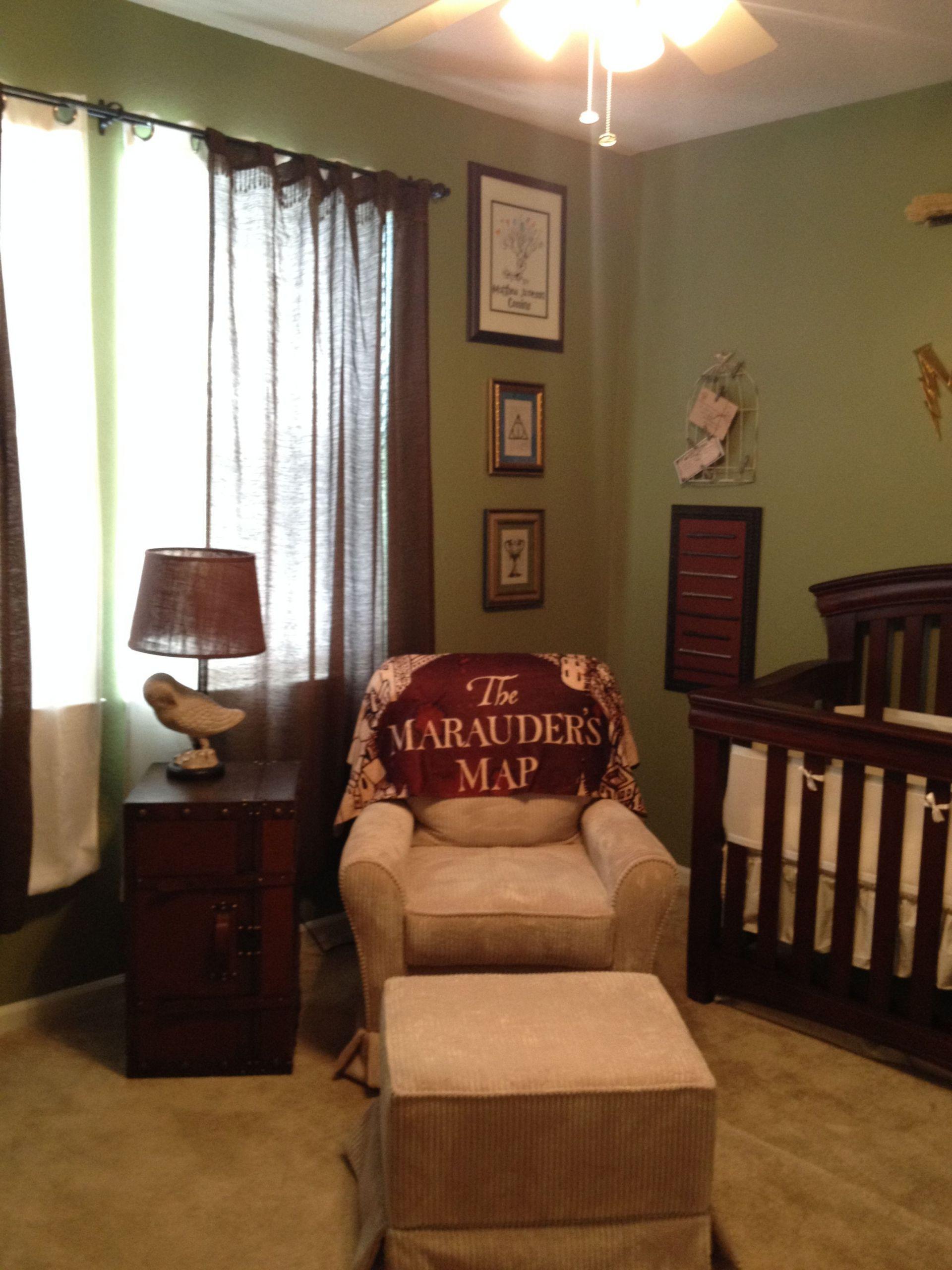 Harry Potter Baby Room Decor  Custom Harry Potter Nursery I made for my son Matthew