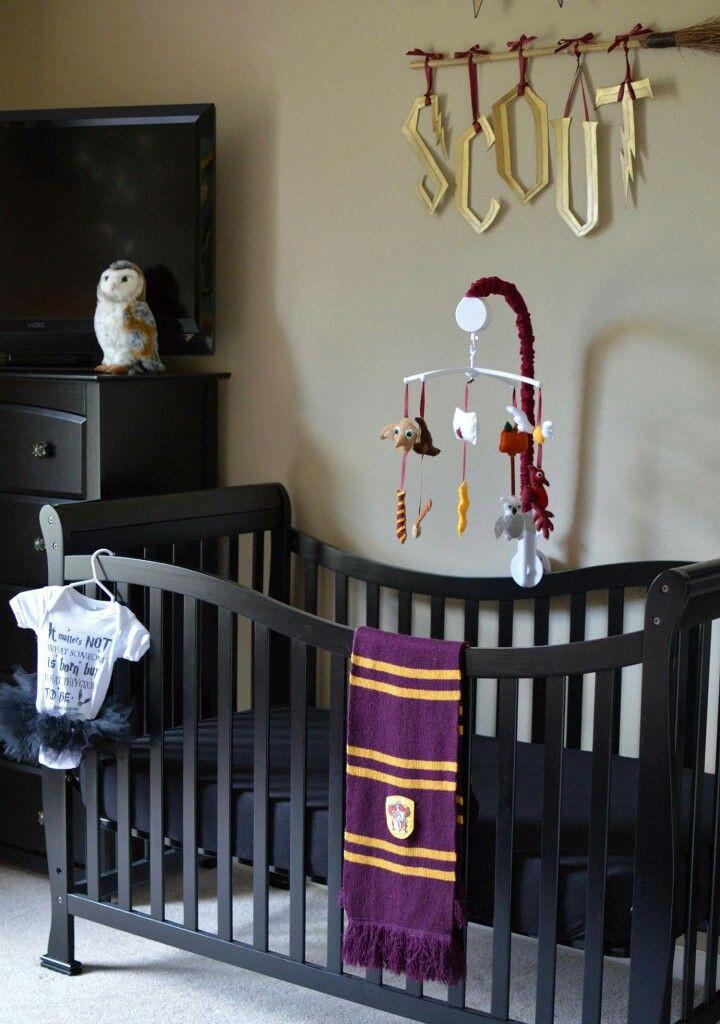 Harry Potter Baby Room Decor  Harry Potter Nursery Guest Room crib