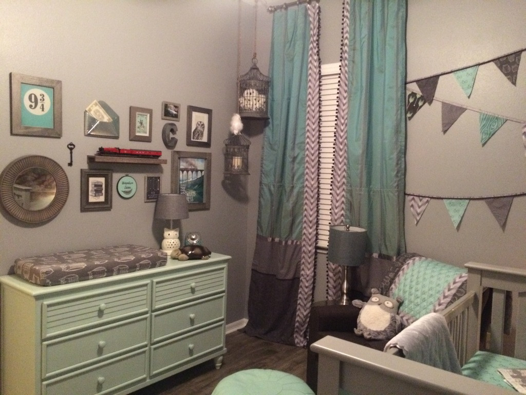 Harry Potter Baby Room Decor  A Harry Potter Inspired Nursery Project Nursery