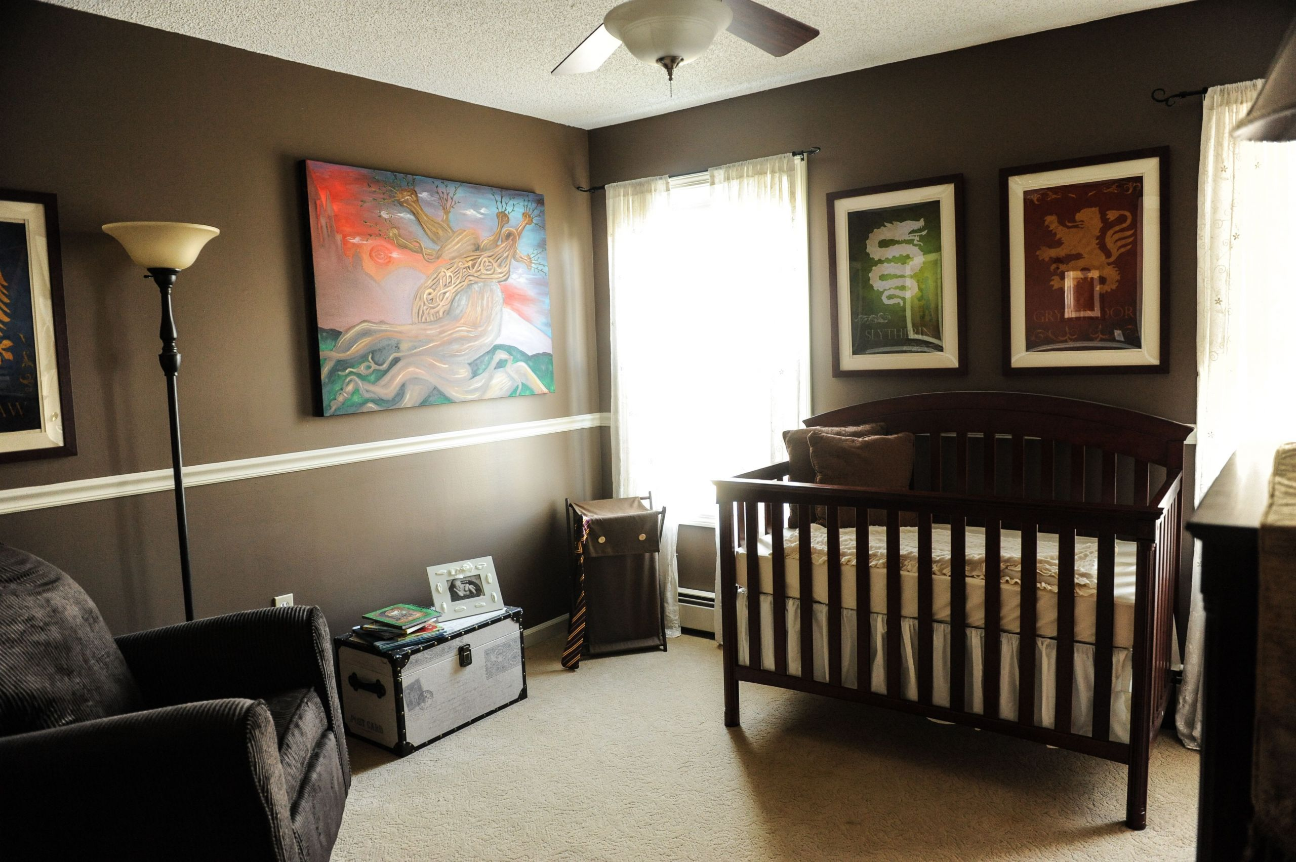 Harry Potter Baby Room Decor  Ezra s Harry Potter nursery If I ever have another