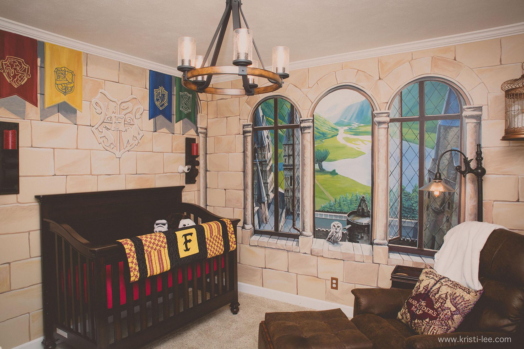 Harry Potter Baby Room Decor  Parents create a magical Harry Potter themed nursery