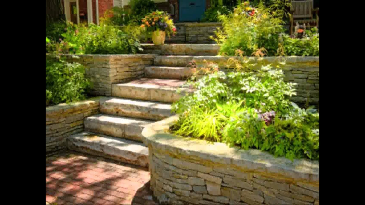 Home Terrace Landscape Awesome Small Home Terraced Garden Ideas