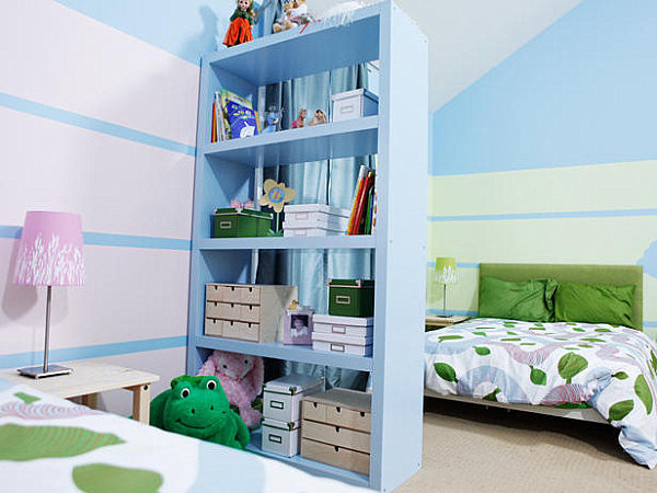 How To Divide A Shared Kids' Room  Kid Spaces 20 d Bedroom Ideas