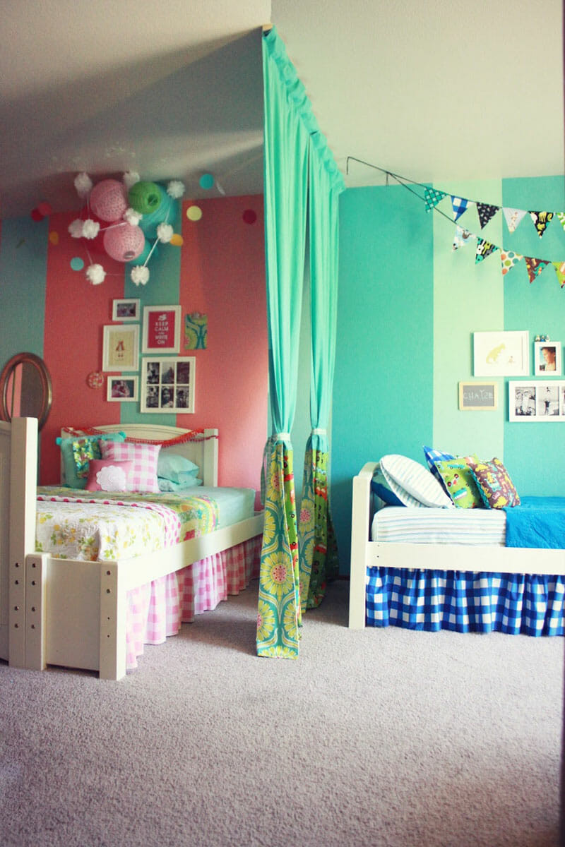 How To Divide A Shared Kids' Room  5 Tips for Making a d Bedroom Work for Your Children