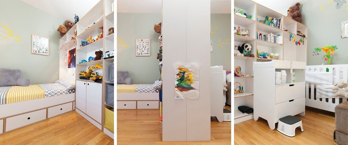 How To Divide A Shared Kids' Room  How to Divide a d Kids' Room