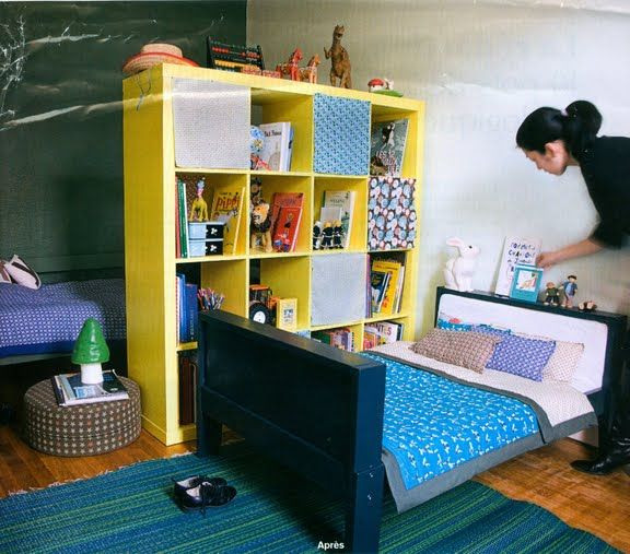 How To Divide A Shared Kids' Room  Creating Privacy in a d Room