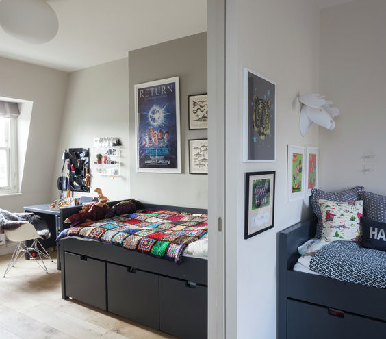 How To Divide A Shared Kids' Room  Double Up