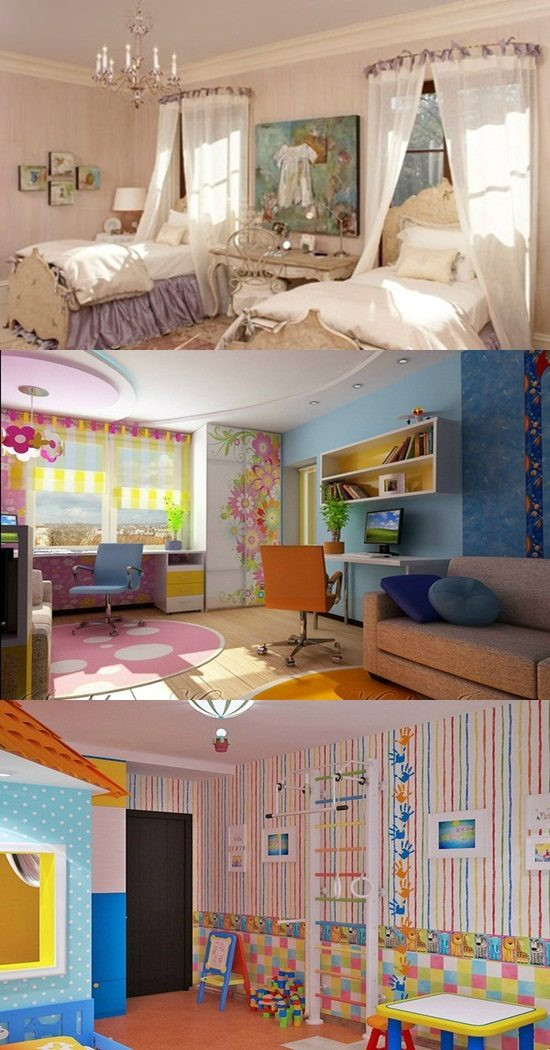 How To Divide A Shared Kids' Room  Creative ways to divide a d Bedroom for 2 Kids