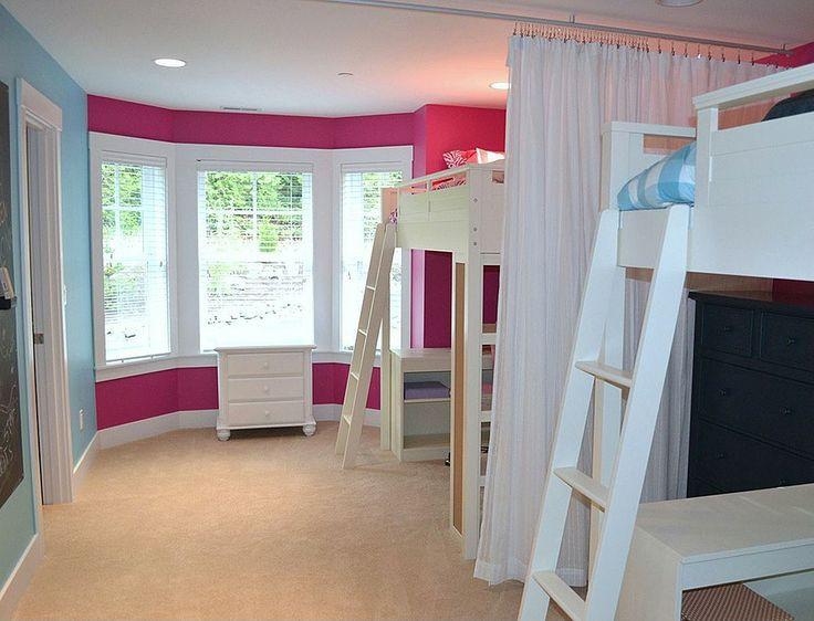 How To Divide A Shared Kids' Room  22 best Divided kids room images on Pinterest