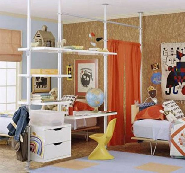 How To Divide A Shared Kids' Room  Kids Bedroom Ideas – to Enhance Their Imaginations
