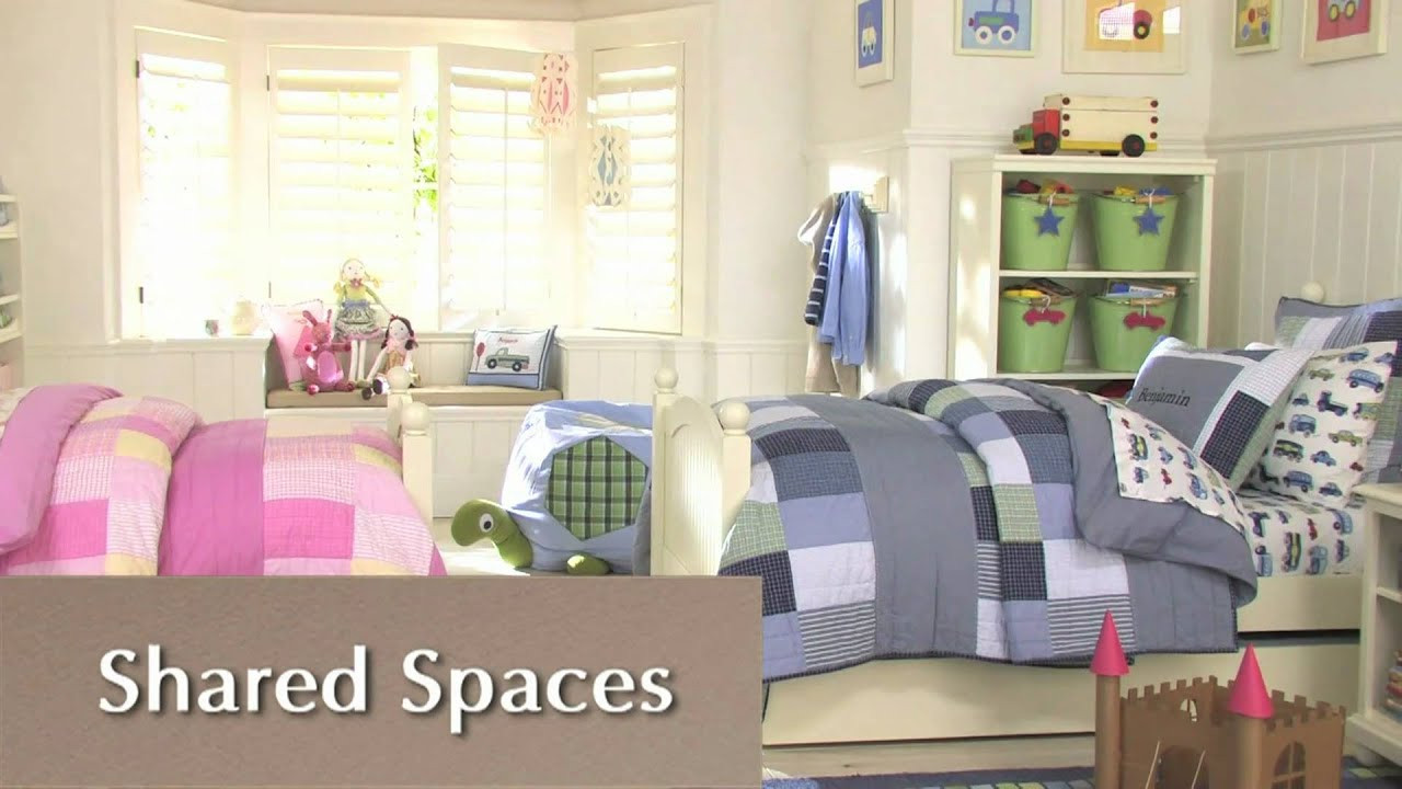 How To Divide A Shared Kids' Room  How to Divide d Space Efficiently