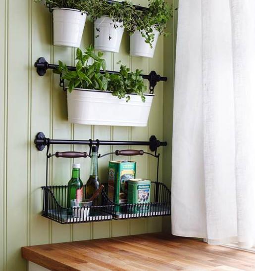 Ikea Kitchen Hanging Storage  Five FREE IKEA Kitchen Design Hacks